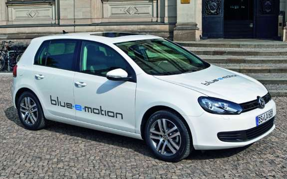 Platform for electric mobility: Golf Blue e-Motion picture #1