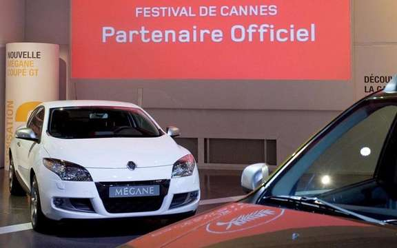 Renault partner of the cinema and the Cannes Film Festival