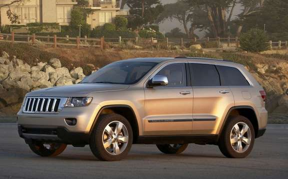 Jeep Grand Cherokee 2011: Available from $ 37,995 picture #3