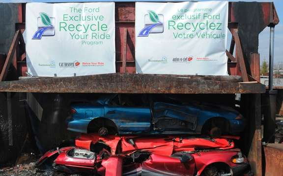 "Ford presented its ""Recycle Your Vehicle"" picture #2"