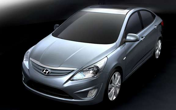 Hyundai Avante 2011: It is also called Elantra