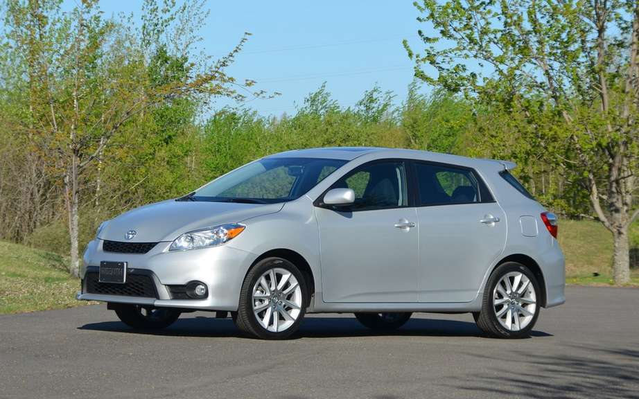 Confirms Toyota Matrix will not return in 2015