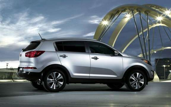 2011 Kia Sportage: From $ 21,995 in Canada picture #4