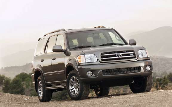 Toyota Sequoia 2003 1500 Reminder vehicles in Canada
