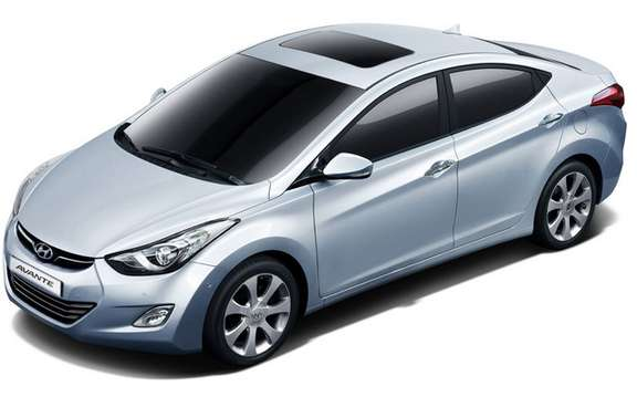 Hyundai Avante 2011: It is also called Elantra picture #3