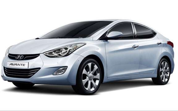 Hyundai Avante 2011: It is also called Elantra picture #4