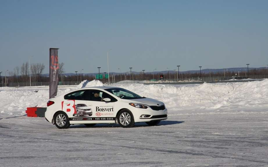 Winter driving course has preventive ICAR picture #1