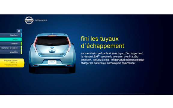 Nissan launches website for its LEAF picture #3