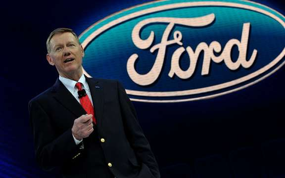 Ford records profits of 2.1 billion