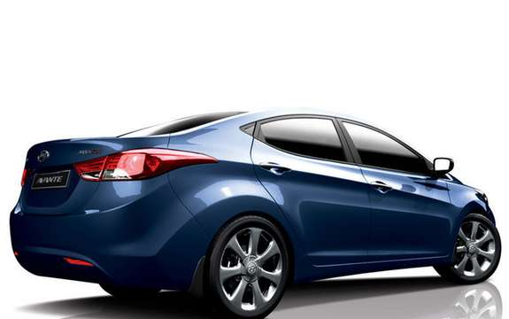 Hyundai Avante 2011: It is also called Elantra picture #6