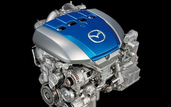Mazda presents its new energy efficient motors SKY picture #4