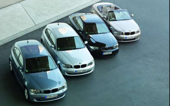 BMW Serie1 1 million cars produced