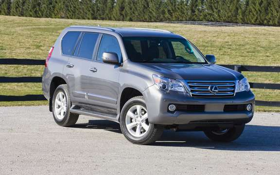 Temporary suspension of the delivery of the Lexus GX460 2010