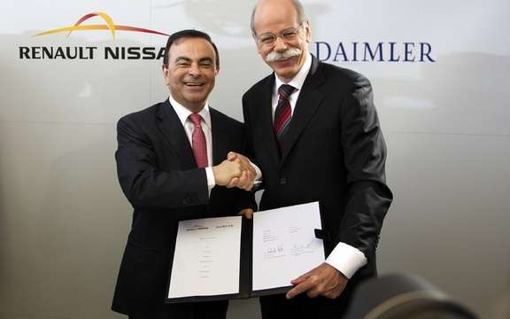 The Renault-Nissan Alliance and Daimler AG announce wide-ranging strategic cooperation picture #1