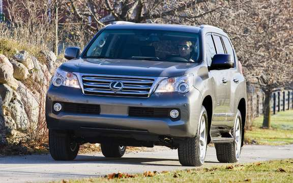 Lexus Canada announced a recall of its model GX 460 2010