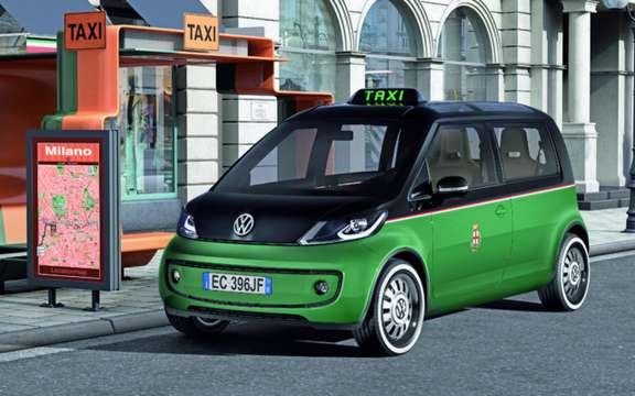 Volkswagen Milano Taxi: A mu prototype to electricity