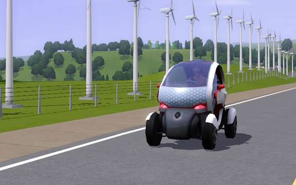Renault and Electronic Arts announced an exclusive agreement with the SIMS 3 picture #2