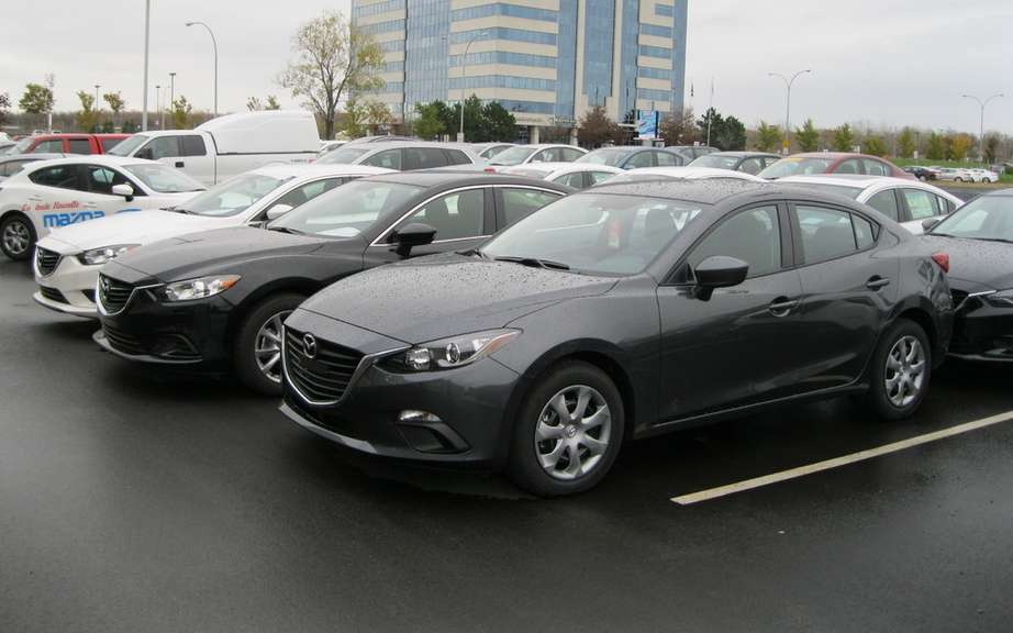 Mazda Canada reports its results for the sale of the year 2013