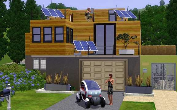 Renault and Electronic Arts announced an exclusive agreement with the SIMS 3 picture #3