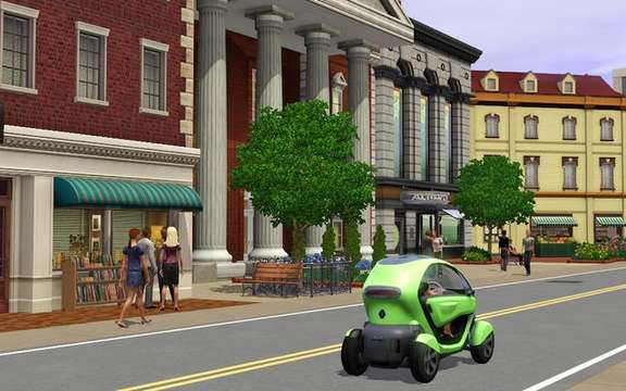 Renault and Electronic Arts announced an exclusive agreement with the SIMS 3 picture #4