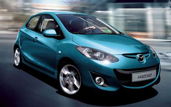 2011 Mazda2: A starting price of $ 13,995