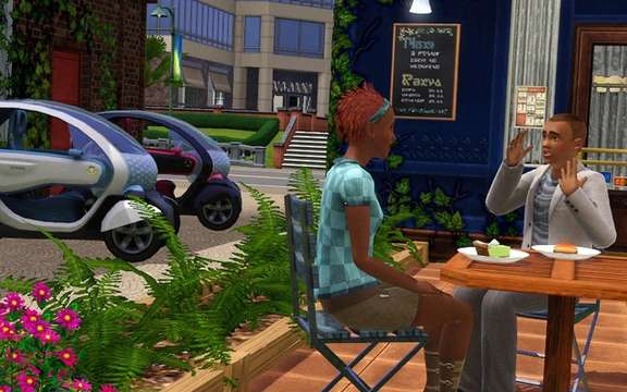 Renault and Electronic Arts announced an exclusive agreement with the SIMS 3 picture #5