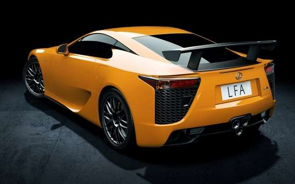 Lexus LFA Nurburgring: In just 50 copies picture #2