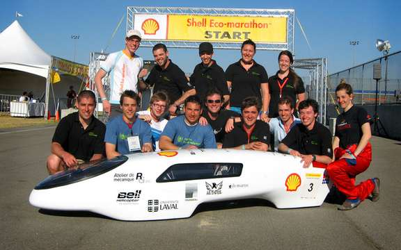 The Universite Laval North American champion of fuel economy