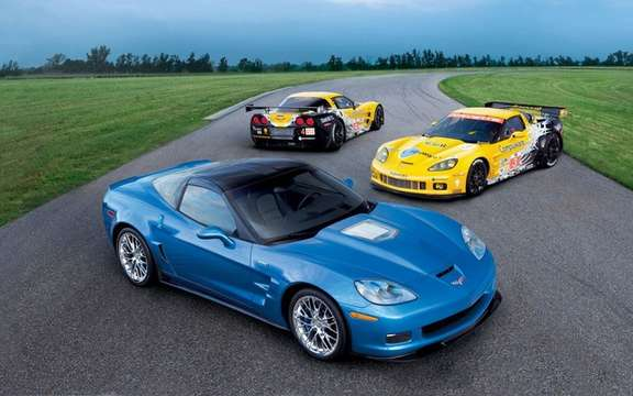 Chevrolet Corvette ZR1: She disembarked in Europe