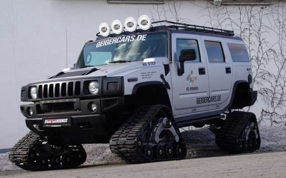Hummer H2 Bomber: The SUV Crawler picture #3