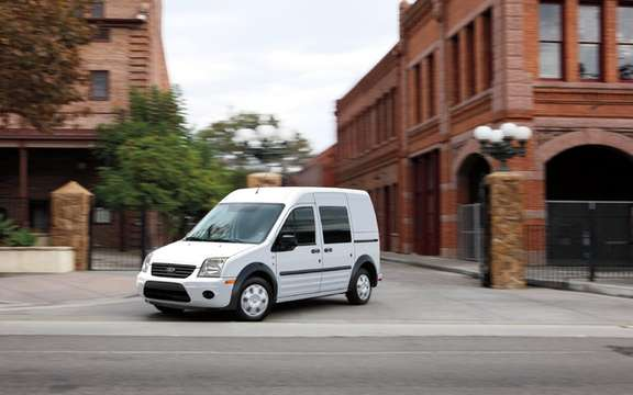 Canada Post selects Ford Transit Connect has more ecological vocation picture #1