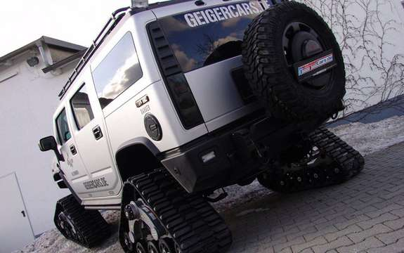 Hummer H2 Bomber: The SUV Crawler picture #4