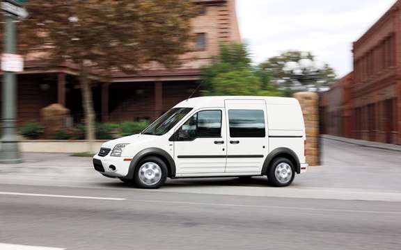 Canada Post selects Ford Transit Connect has more ecological vocation picture #2