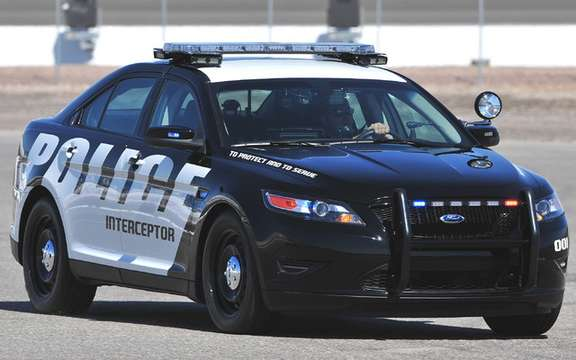 Ford Police Interceptor Concept: Station has you!