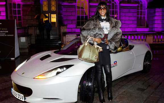 Lotus and Naomi Campbell harvest 1.4 million for Haiti '