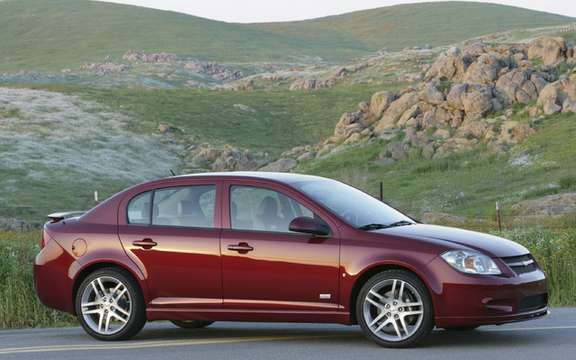GM Canada is a non-mandatory recall of Chevrolet Cobalt and Pontiac G5 and Pursuit.