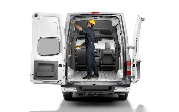 Nissan NV 2011: Their first vehicle business utility America picture #4