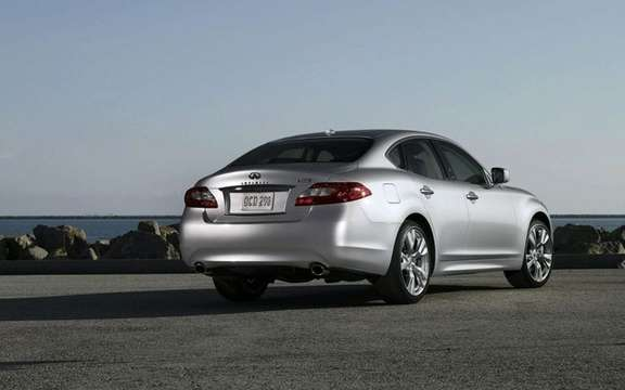 Infiniti Canada announces pricing for its new luxury sedan 2011 M37 and M56 picture #2