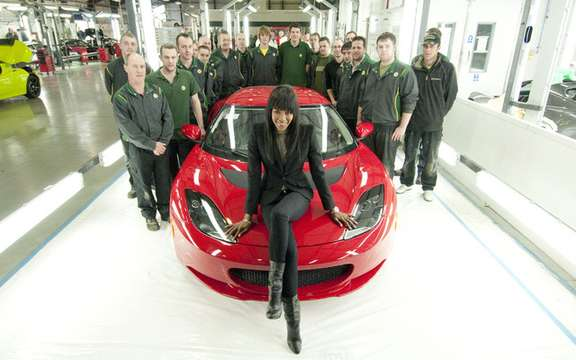 Lotus Evora: Edition 'Naomi for Haiti