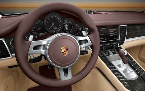 The six-cylinder Porsche Panamera will debut in Beijing picture #3