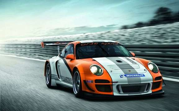 Porsche 911 GT3 R Hybrid: Pending the model of series