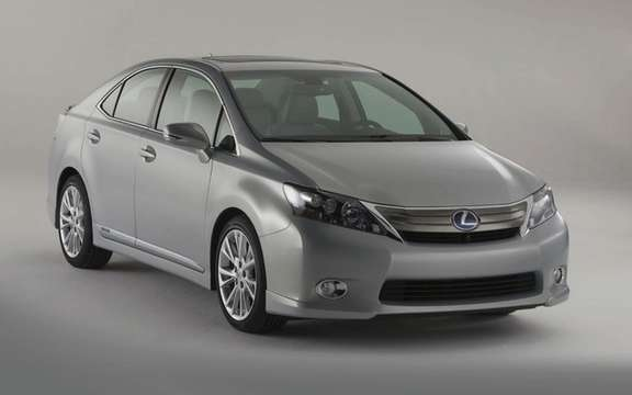 Toyota Prius and Lexus HS 250h has submitted a voluntary recall picture #4