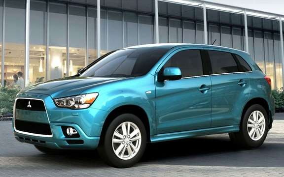 Mitsubishi ASX 2011: this will be his name in European soil