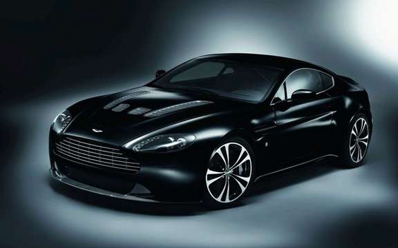 Aston Martin all dressed in black