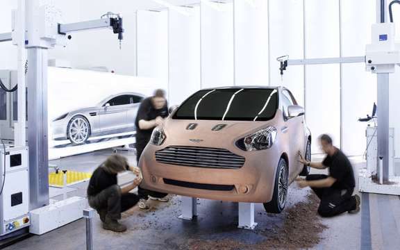 Aston Martin Cygnet Concept: the reality which surpasses all fiction