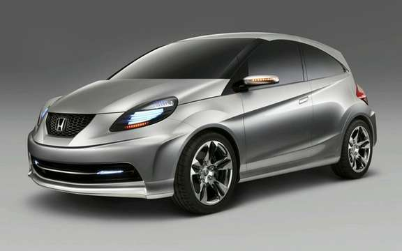 Honda 'New Small Concept': a term Indian sauce picture #2
