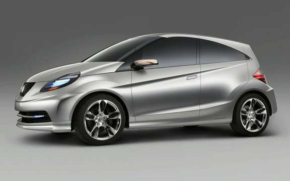 Honda 'New Small Concept': a term Indian sauce picture #3