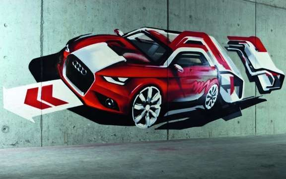 Audi A1: The countdown has started ...