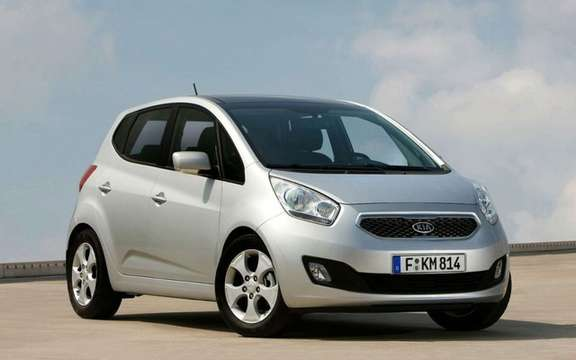 Kia Venga 2010 she won the iF Product Design Award '