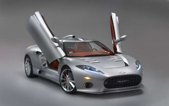 Spyker Saab is interested in resuming picture #4